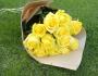 12 rosas Amarelas