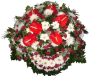 Coroa de Flores Piqué 1,00M